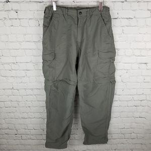 REI   convertible zip-off outdoor pants-shorts